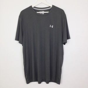 Under Armour Gray Loose Fit Performance Tee ▪️